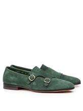 Туфли Santoni MCNC13907 100% кожа Зеленый Италия изображение 0