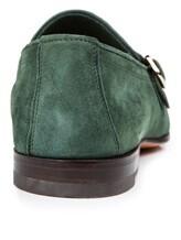 Туфли Santoni MCNC13907 100% кожа Зеленый Италия изображение 3