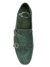 Туфли Santoni MCNC13907 100% кожа Зеленый Италия изображение 4