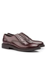 Ботинки Brunello Cucinelli 996 100% кожа Темно-бордовый Италия изображение 0