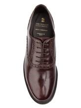 Ботинки Brunello Cucinelli 996 100% кожа Темно-бордовый Италия изображение 4