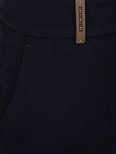 Брюки (текстиль) Peserico P04763 63% полиэстер, 27% вискоза, 7% хлопок, 3% эластан Синий Италия изображение 2