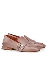 Туфли Santoni WUDM57807 100% кожа теленка Бежевый Италия изображение 0