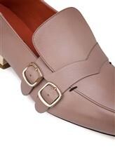 Туфли Santoni WUDM57807 100% кожа теленка Бежевый Италия изображение 5