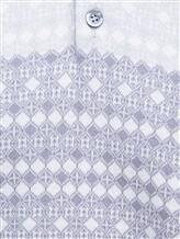 Поло Pashmere SU97067 50% хлопок, 50% шёлк Светло-серый Италия изображение 2