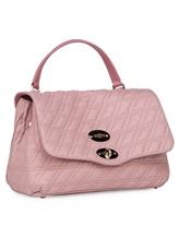 Сумка ZANELLATO 06377 100% кожа ягненка Розовый Италия изображение 2