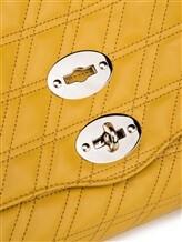 Сумка ZANELLATO 06377 100% кожа ягненка Желтый Италия изображение 4
