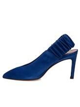Туфли Santoni WDNT57837 100% кожа теленка Синий Италия изображение 4