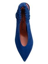 Туфли Santoni WDNT57837 100% кожа теленка Синий Италия изображение 5