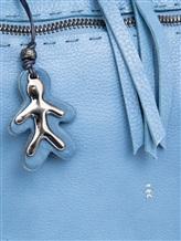 Сумка Henry Beguelin BU3805 100% кожа быка Голубой Италия изображение 1