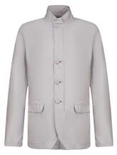 Куртка Herno GA0074U 57% полиамид, 43% полиэстер Светло-серый Италия изображение 0