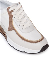 Кроссовки Peserico S39329C0R 40% кожа теленка, 35% хлопок, 25% полиэстер Натуральный Италия изображение 4