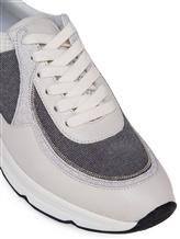 Кроссовки Peserico S39329C0R 40% кожа теленка, 35% хлопок, 25% полиэстер Серый Италия изображение 4