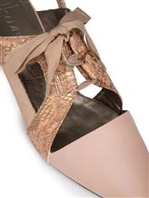 Туфли Henry Beguelin SD3862 70% кожа коровы, 30% кожа козы Бежево-розовый Италия изображение 4