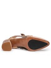 Туфли Henry Beguelin SD3862 70% кожа коровы, 30% кожа козы Бежево-розовый Италия изображение 6