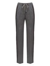 Брюки (текстиль) Peserico P04775 96% шерсть 4% эластан Серый Италия изображение 0
