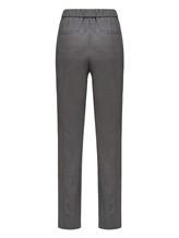 Брюки (текстиль) Peserico P04775 96% шерсть 4% эластан Серый Италия изображение 1