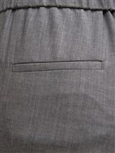 Брюки (текстиль) Peserico P04775 96% шерсть 4% эластан Серый Италия изображение 2