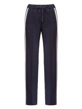 Брюки (текстиль) Peserico P04775 96% шерсть 4% эластан Темно-синий Италия изображение 0