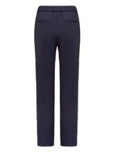 Брюки (текстиль) Peserico P04775 96% шерсть 4% эластан Темно-синий Италия изображение 1