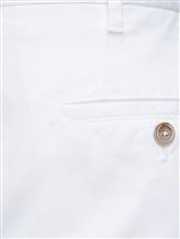 Брюки (текстиль) Fedeli 2UEL0405 97% хлопок 3% эластан Белый Италия изображение 2