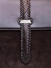 Сумка Santoni UIBBA1758 100% кожа теленка Темно-коричневый Италия изображение 4