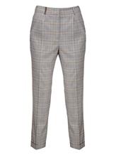 Брюки (текстиль) Peserico P04754 56% шерсть, 36% вискоза, 5% хлопок, 3% эластан Серый Италия изображение 0