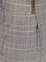 Брюки (текстиль) Peserico P04754 56% шерсть, 36% вискоза, 5% хлопок, 3% эластан Серый Италия изображение 2