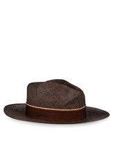 Шляпа Lardini EGHAT34 100% солома Коричневый Италия изображение 0