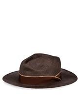 Шляпа Lardini EGHAT34 100% солома Коричневый Италия изображение 1