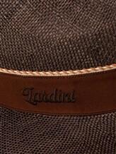 Шляпа Lardini EGHAT34 100% солома Коричневый Италия изображение 2