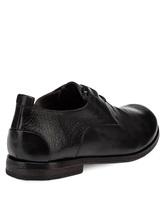 Туфли Marsell MM2380 100% кожа теленка Черный Италия изображение 4
