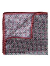 Платок Eton A00031398 100% шёлк Бордовый Италия изображение 1