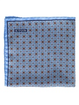 Платок Eton A00031398 100% шёлк Голубой Италия изображение 0