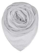 Палантин (текстиль) Faliero Sarti 2152 64% модал, 24% купра, 7% кашемир, 5% полиэстер Белый Италия изображение 0