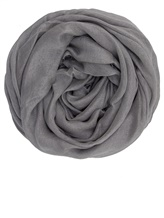 Палантин (текстиль) Faliero Sarti 2152 64% модал, 24% купра, 7% кашемир, 5% полиэстер Светло-серый Италия изображение 0