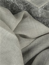 Палантин (текстиль) Faliero Sarti 2023 43% хлопок, 20% модакрил, 17% полиамид, 15% вискоза, 5% кашемир Серо-зеленый Италия изображение 1