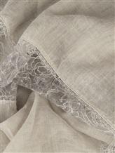 Палантин (текстиль) Faliero Sarti 2023 43% хлопок, 20% модакрил, 17% полиамид, 15% вискоза, 5% кашемир Серый Италия изображение 1