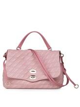 Сумка ZANELLATO 06378 100% кожа ягненка Розовый Италия изображение 0