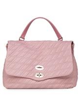 Сумка ZANELLATO 06378 100% кожа ягненка Розовый Италия изображение 1