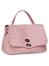 Сумка ZANELLATO 06378 100% кожа ягненка Розовый Италия изображение 2