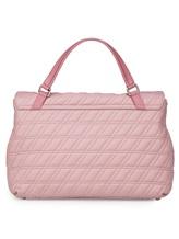 Сумка ZANELLATO 06378 100% кожа ягненка Розовый Италия изображение 3