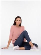 Кеды EREDA 19SED02 100% кожа теленка Серо-розовый Италия изображение 8