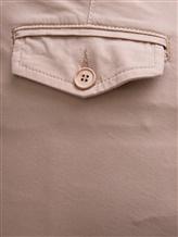 Брюки (текстиль) Bruno Manetti Z1T220 85% хлопок, 12% эластомультиэстер , 3% эластан Бежевый Италия изображение 2