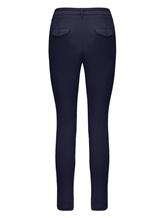 Брюки (текстиль) Bruno Manetti Z1T220 85% хлопок, 12% эластомультиэстер , 3% эластан Темно-синий Италия изображение 1