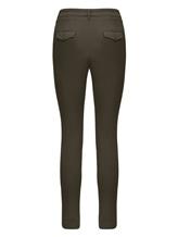 Брюки (текстиль) Bruno Manetti Z1T220 85% хлопок, 12% эластомультиэстер , 3% эластан Хаки Италия изображение 1