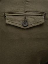 Брюки (текстиль) Bruno Manetti Z1T220 85% хлопок, 12% эластомультиэстер , 3% эластан Хаки Италия изображение 2