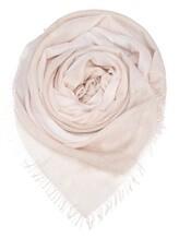 Палантин (текстиль) Agnona AS506Y 70% кашемир, 30% шёлк Светло-бежевый Италия изображение 0
