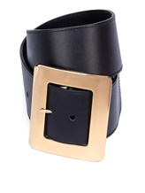 Ремень ERIKA CAVALLINI P9PW37 100% кожа Черный Италия изображение 0