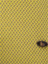 Поло Colombo MA03499 50% хлопок, 50% шёлк Желтый Италия изображение 2
